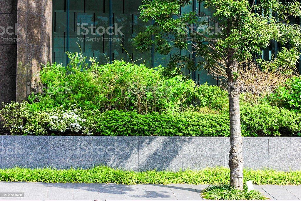 Sustainability in Tokyo, Japan stock photo