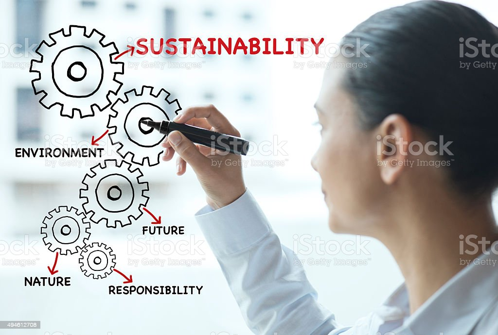 Sustainability stock photo