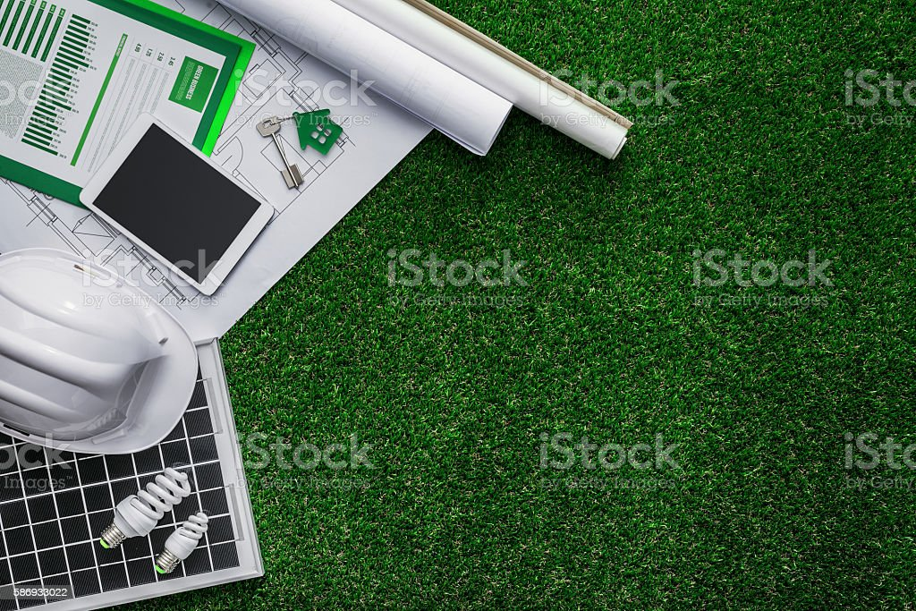 Sustainable building stock photo