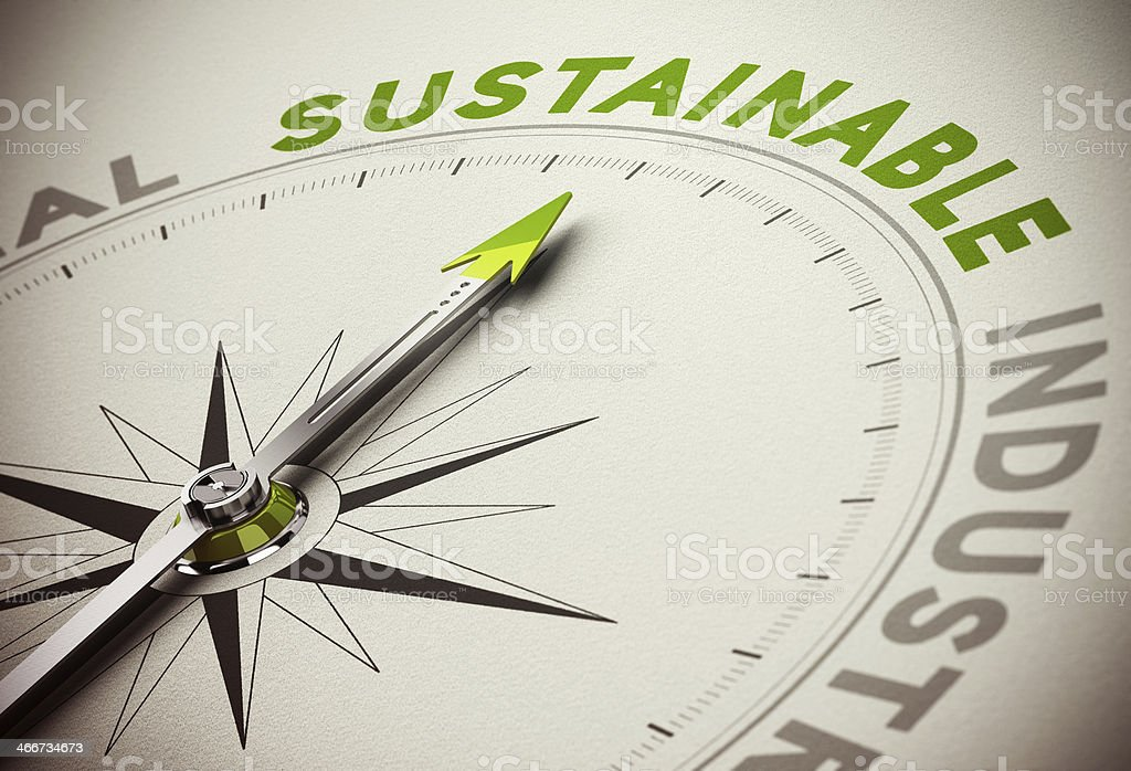 Sustainable Concept - Sustainability Business stock photo