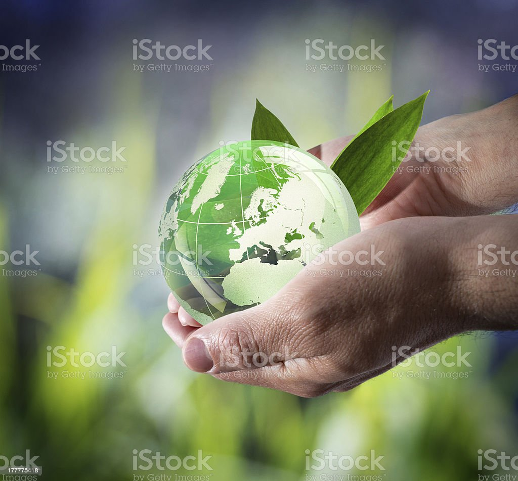 sustainable development worldwide stock photo