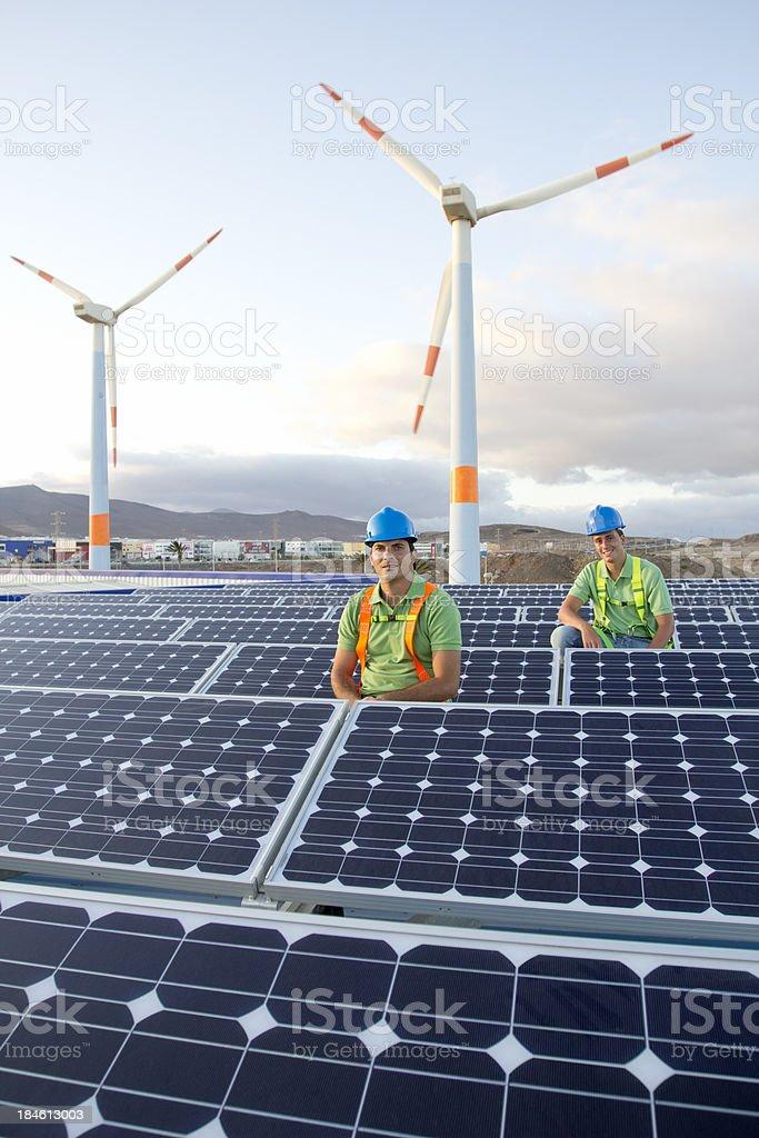 Sustainable Energy royalty-free stock photo