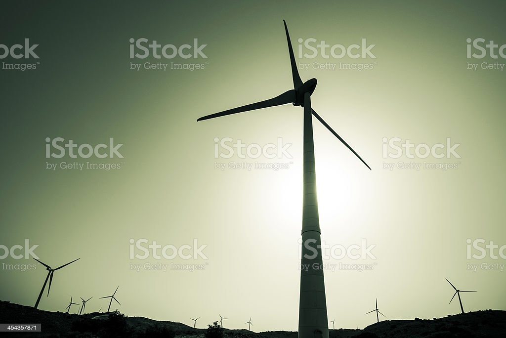 Sustainable energy royalty-free stock photo