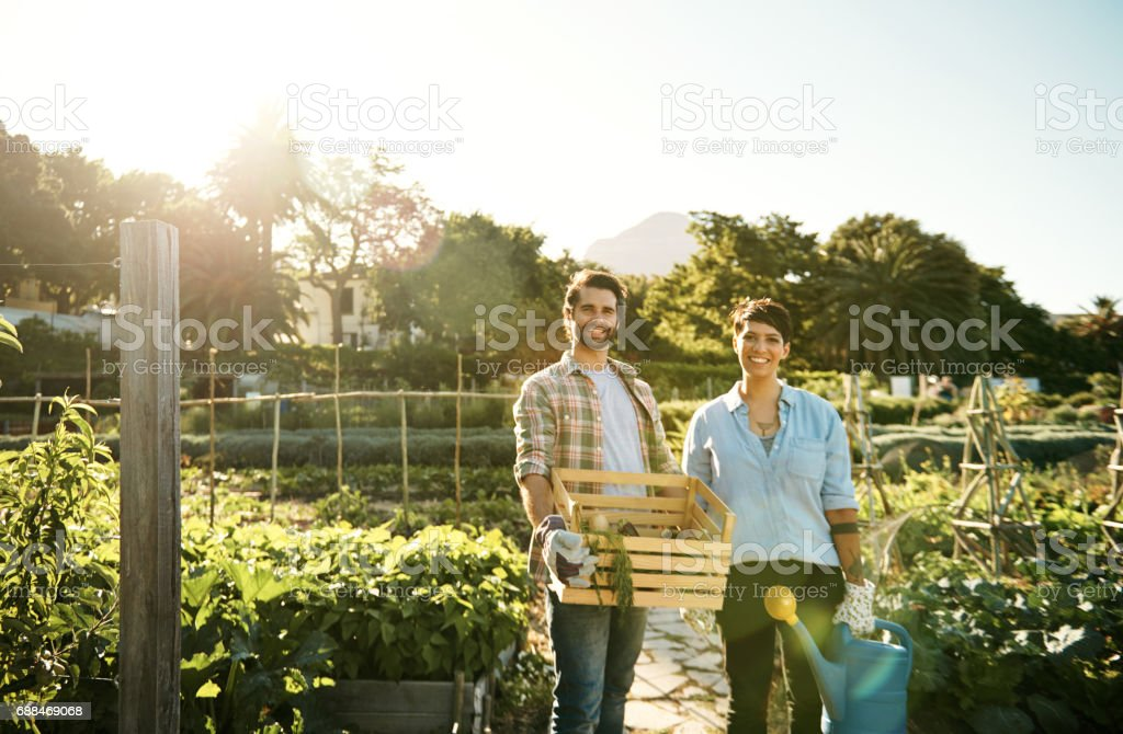 Sustainable living makes all the difference stock photo