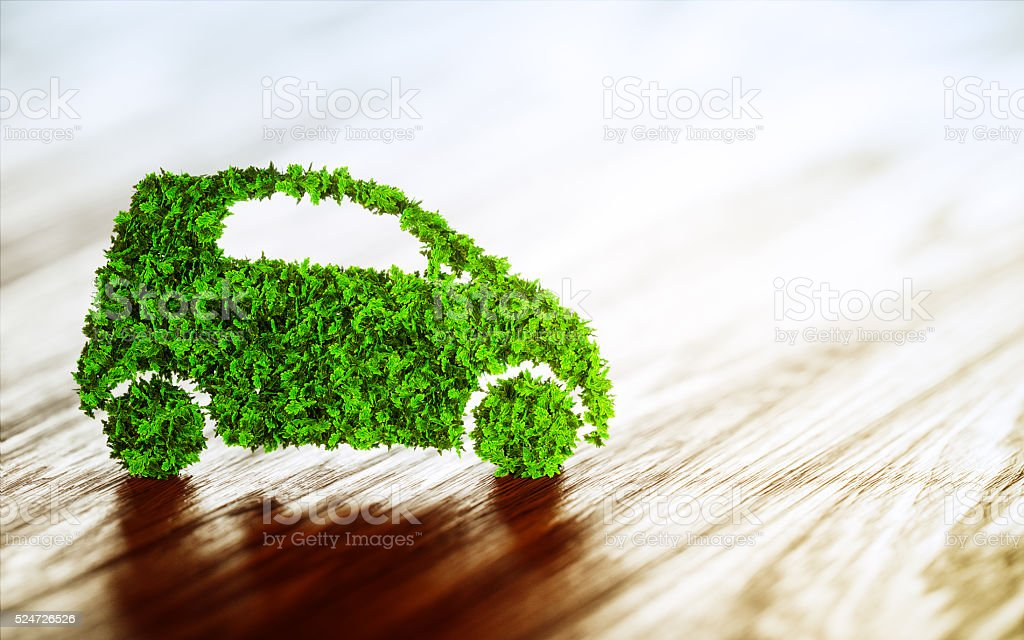 Sustainable transport concept. stock photo
