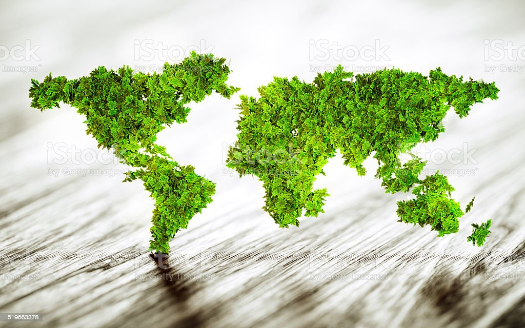 Sustainable world stock photo