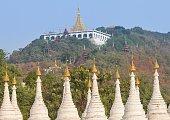Sutaungpyai Temple on Mandalay Hill, Myanmar