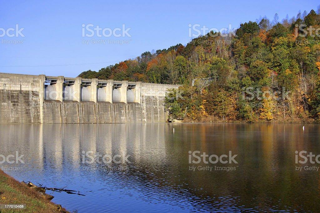 Sutton reservoir stock photo