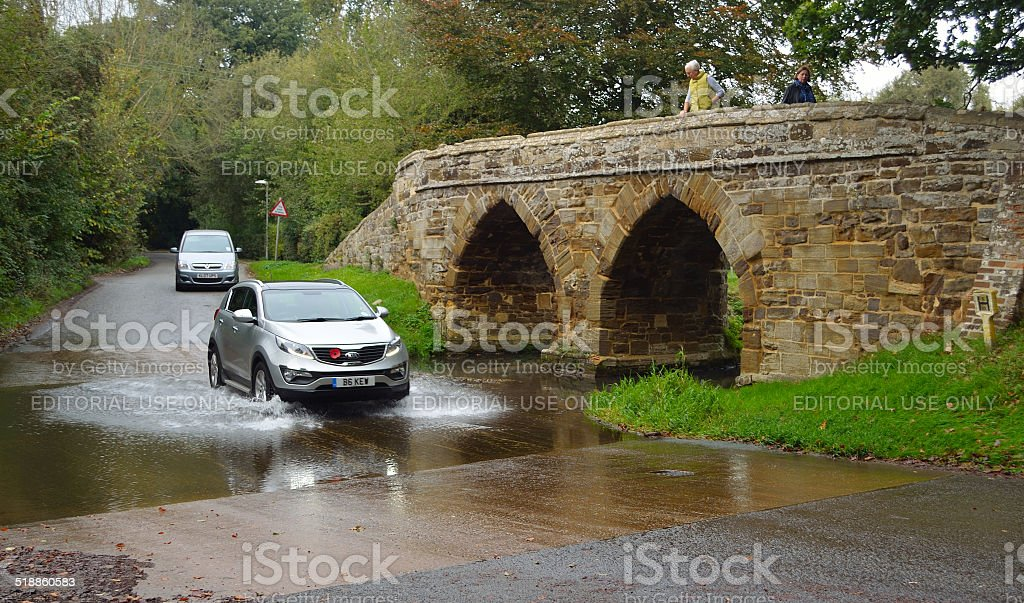 Sutton Splash Bedfordshire stock photo