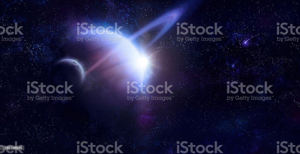 Suturn stock photo