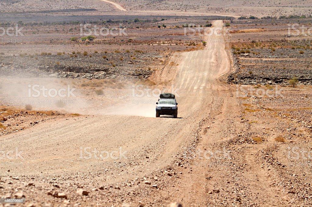 suv namibia stock photo