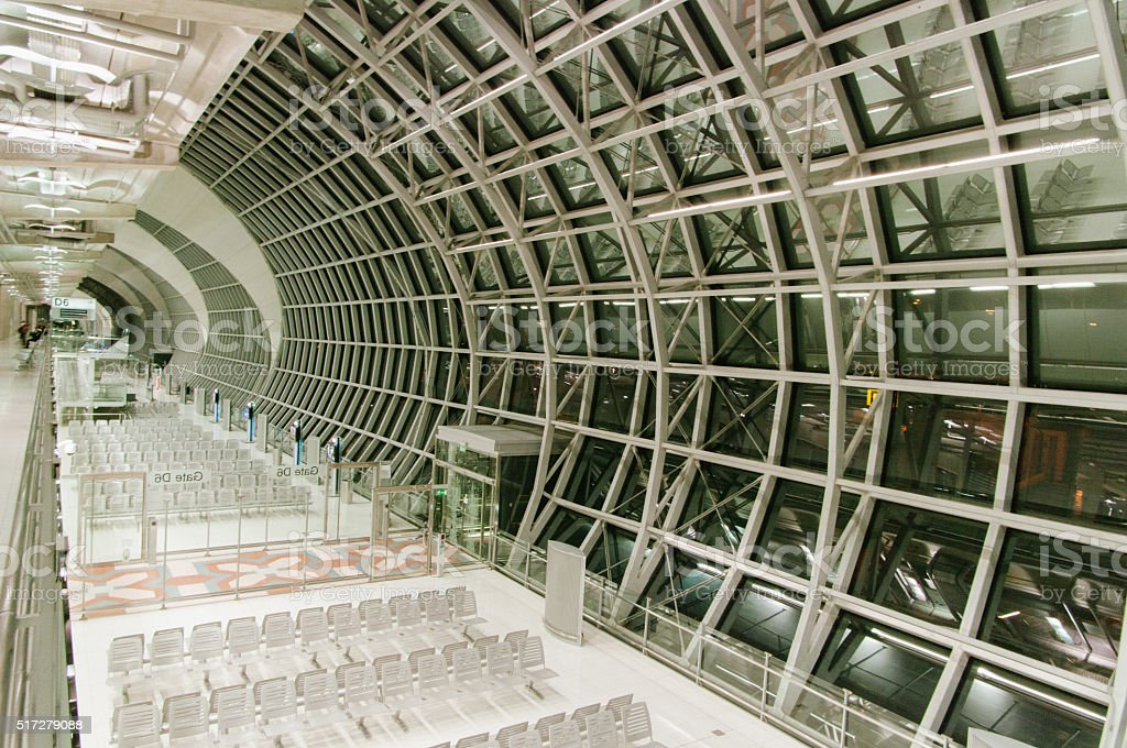 Suvarnabhumi airport ( Bangkok Airport ), Thailand Asia stock photo