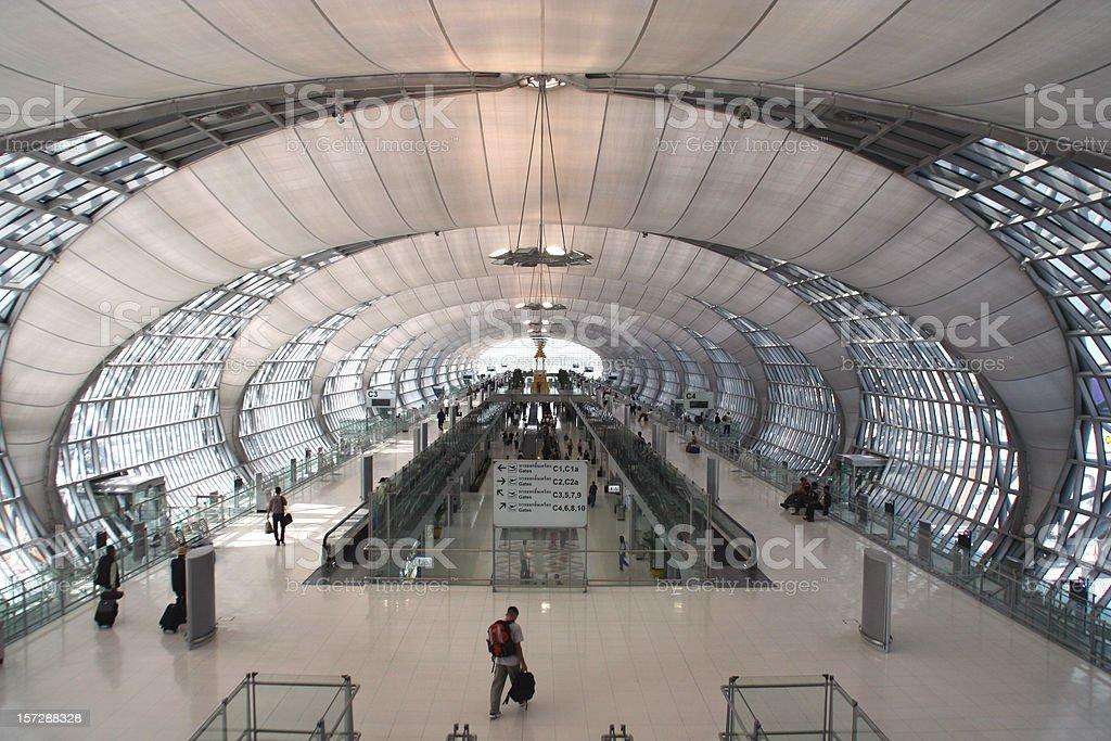 Suvarnabhumi Bangkok Airport royalty-free stock photo