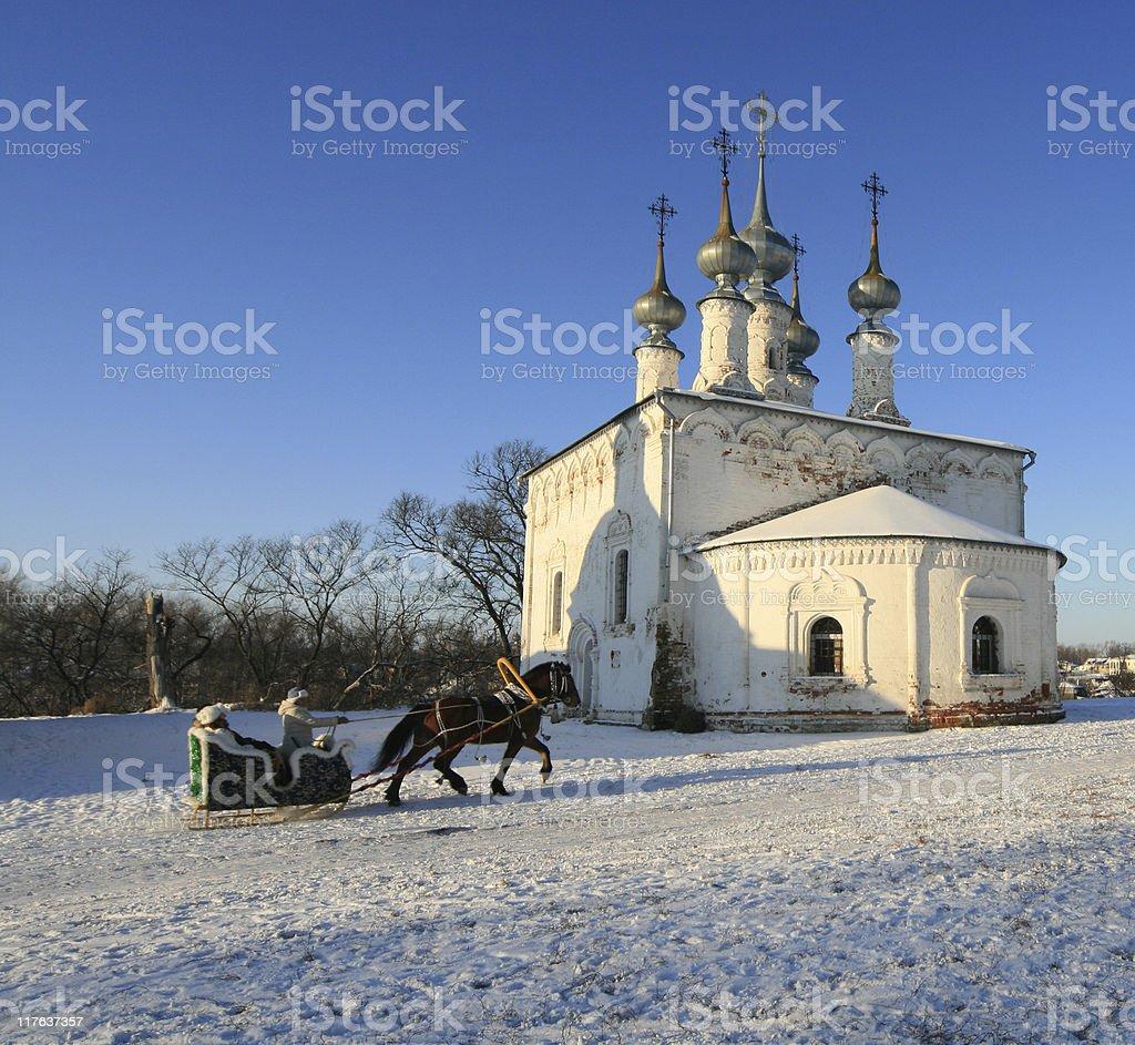 Suzdal church royalty-free stock photo
