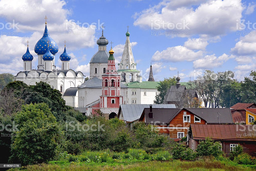 Suzdal. The view of the city stock photo