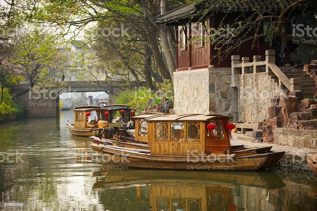 Suzhou Ancient Town stock photo
