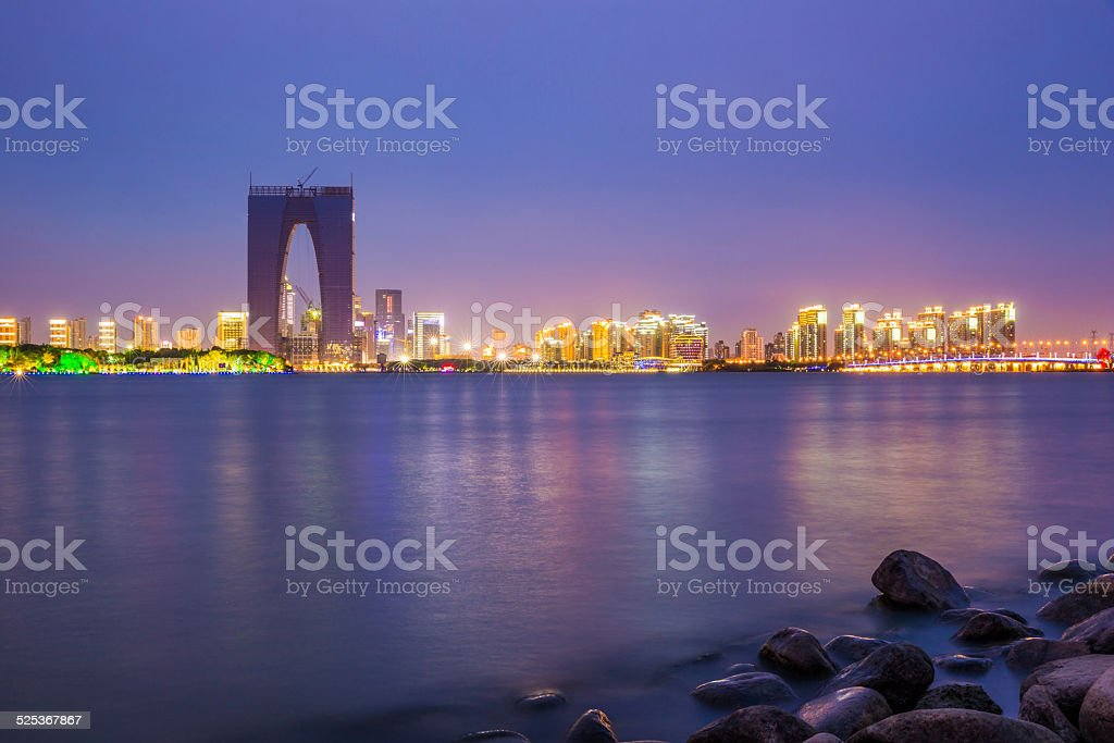 Suzhou at Dusk stock photo