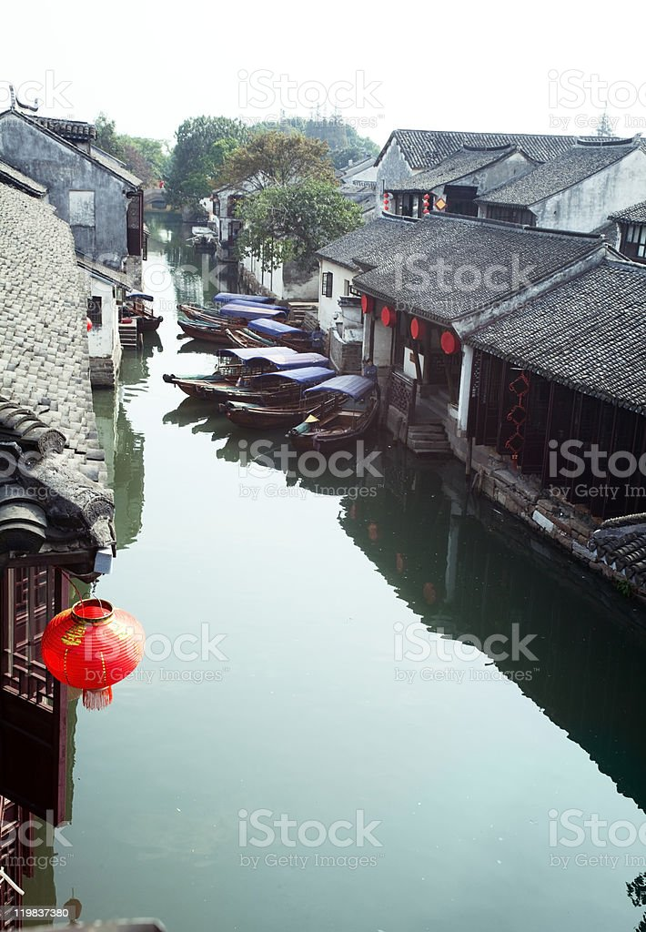 Suzhou Canal stock photo