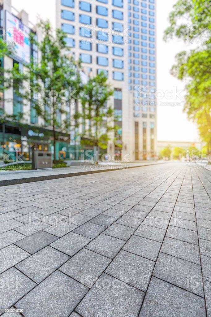 suzhou shopping street,china stock photo