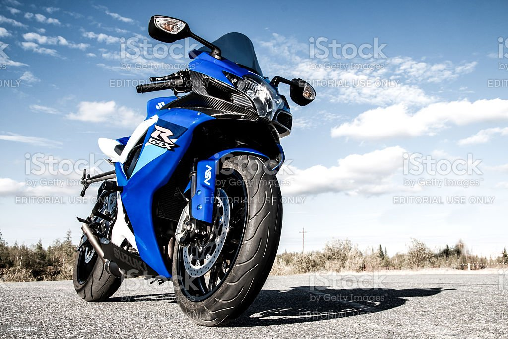Suzuki GSX-R750 stock photo