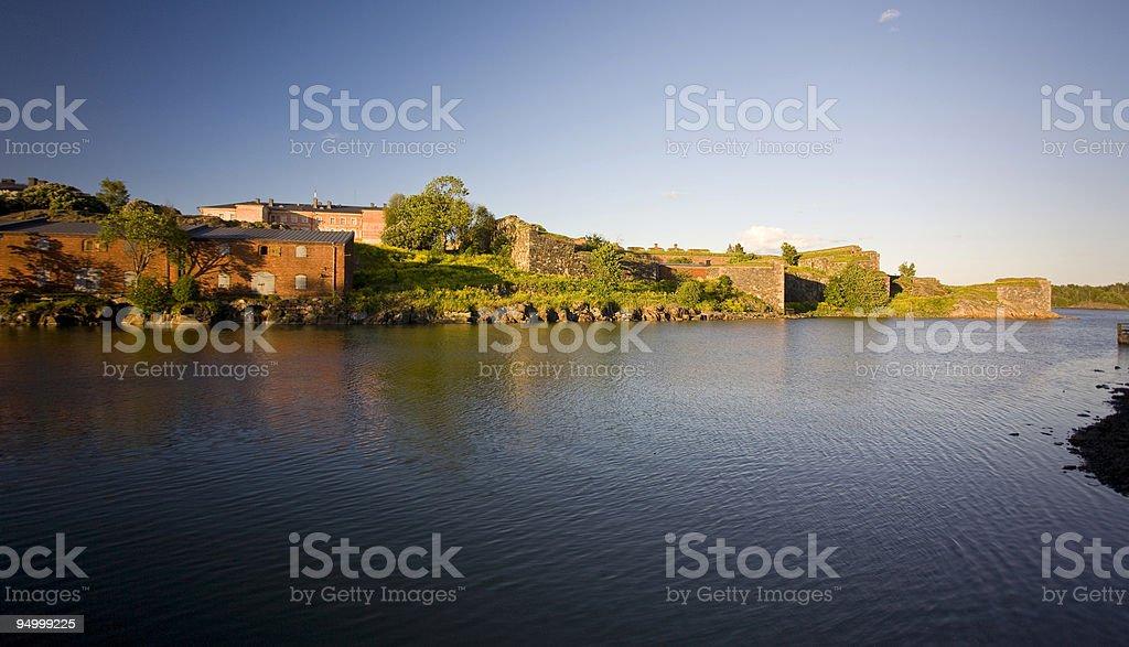 Svaeborg fortress, Suomenlinna royalty-free stock photo