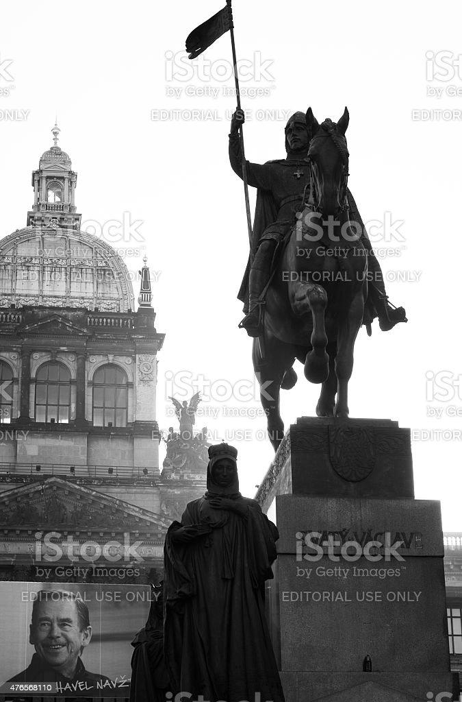 Svaty Vaclav stock photo