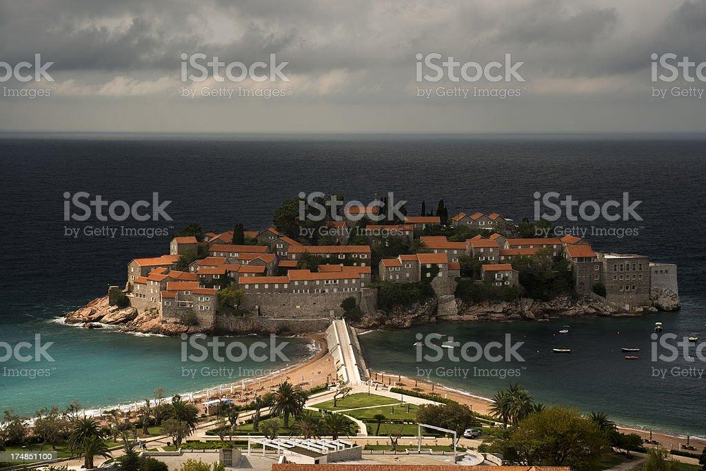 Sveti Stefan - Montenegro royalty-free stock photo