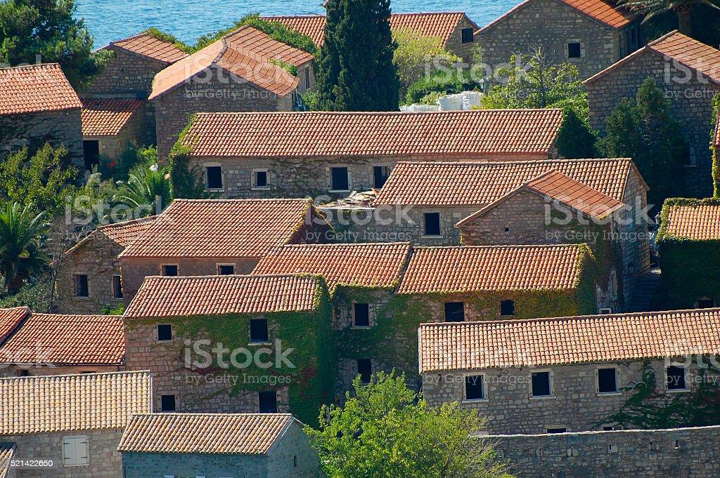 Sveti Stefan - Montenegro stock photo