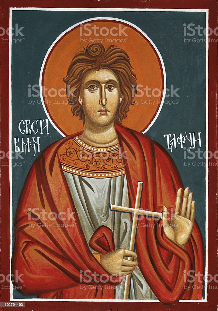 Sveti Trifun stock photo