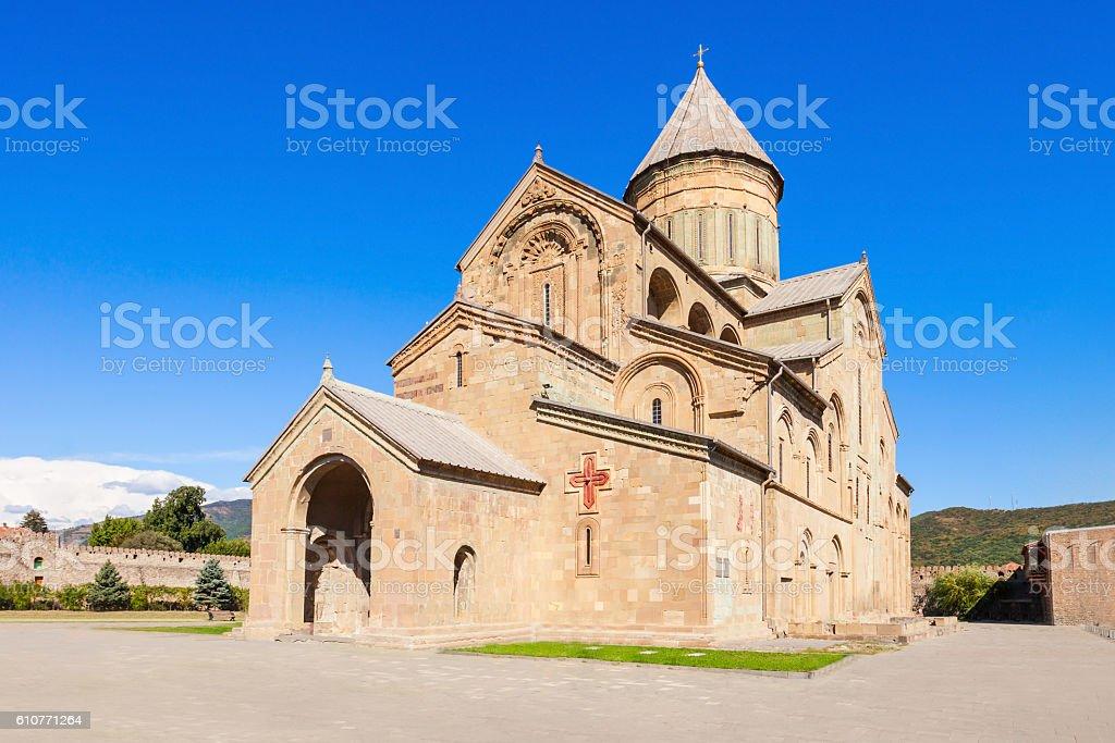 Svetitskhoveli Cathedral, Mtskheta stock photo