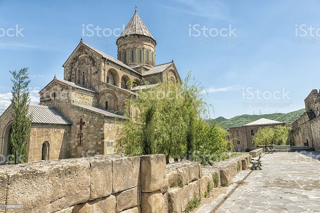 Svetitskhoveli Cathedral royalty-free stock photo