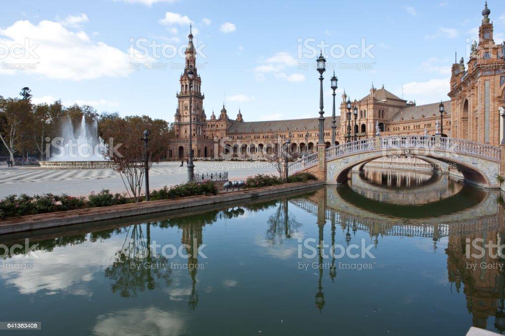 Séville, en Espagne stock photo