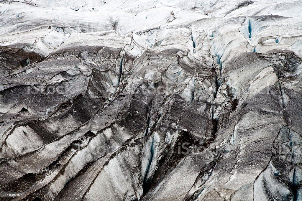Svinafellsjokull Glacier Iceland royalty-free stock photo