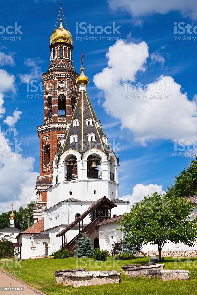 Svyato-Ioanno-Bogoslovsky monastery stock photo