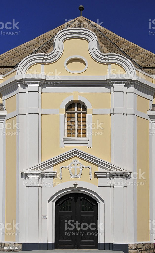 Swakopmund, Erongo district, Namibia: Evangelical Lutheran Church royalty-free stock photo