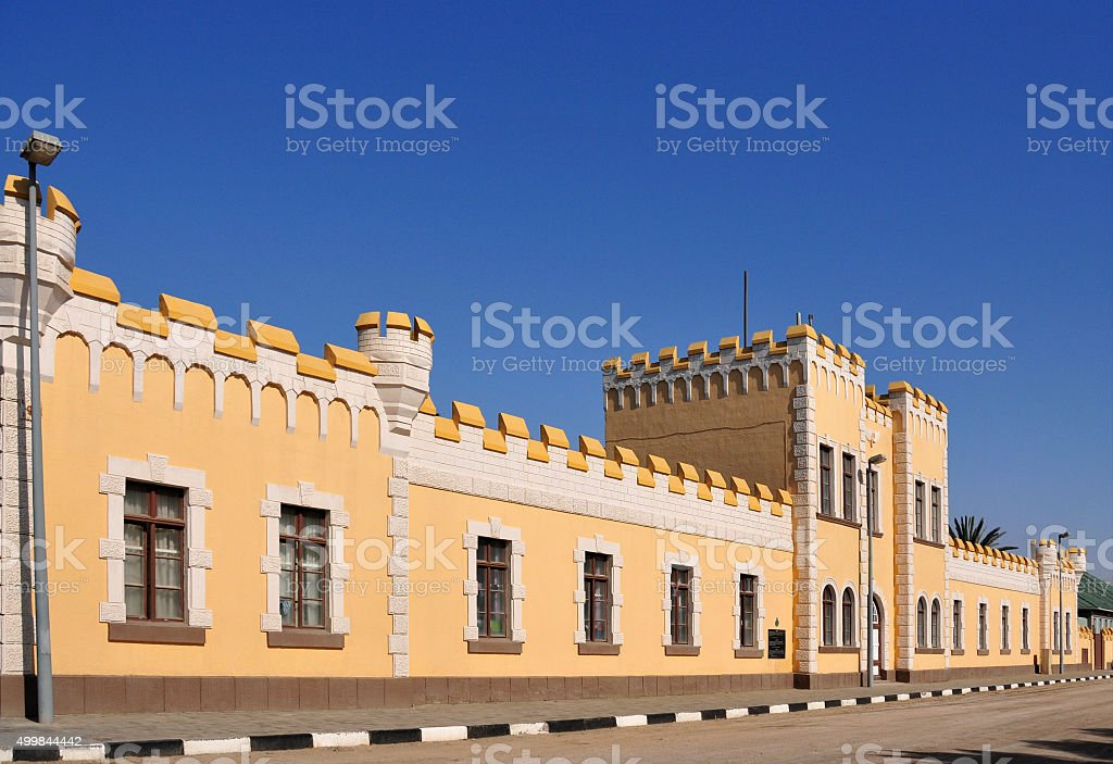 Swakopmund, Namibia: German barracks, Alte Kaserne stock photo