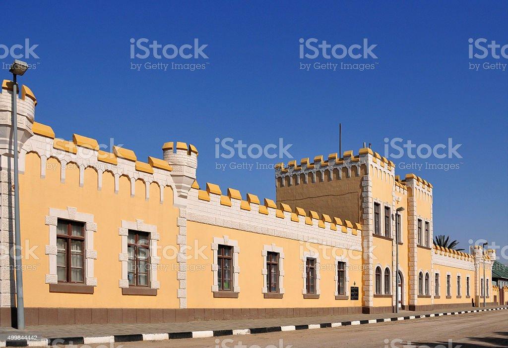 Swakopmund, Namibia: German barracks, Alte Kaserne stock photo