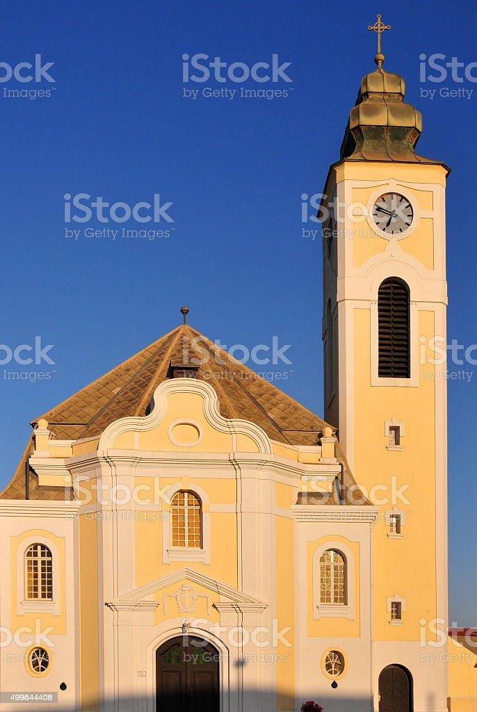 Swakopmund,  Namibia: German Lutheran Church stock photo
