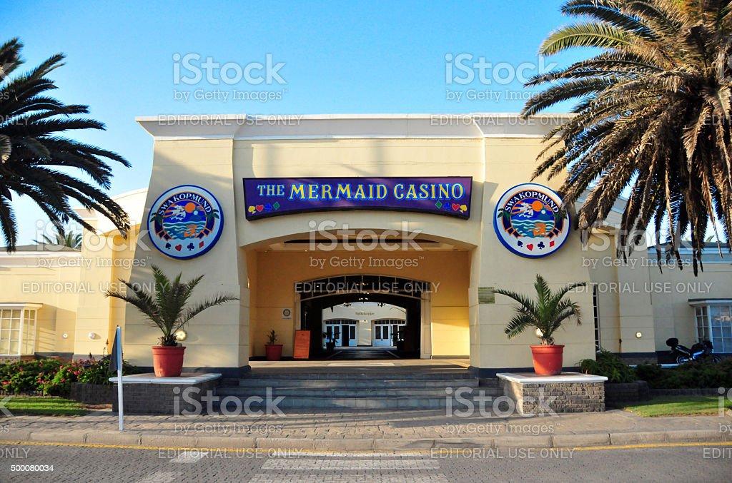 Swakopmund, Namibia: the Mermaid Casino stock photo