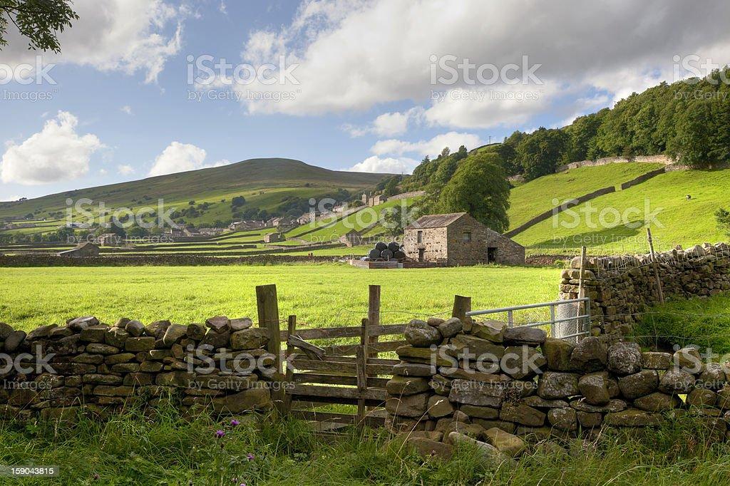 Swaledale, Yorkshire Dales, England stock photo