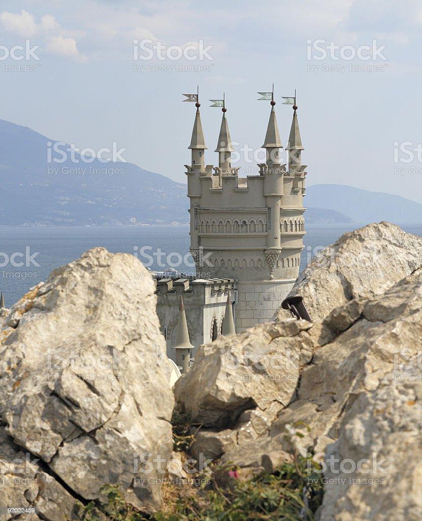 Swallow's Nest (Crimea) royalty-free stock photo