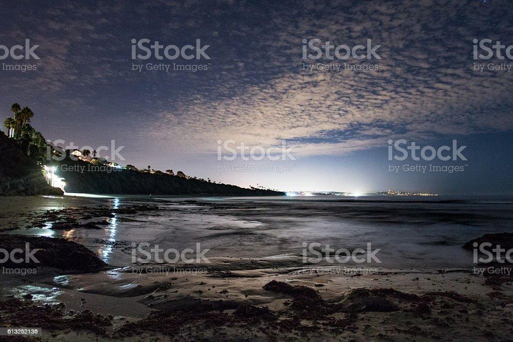 Swami's Beach stock photo