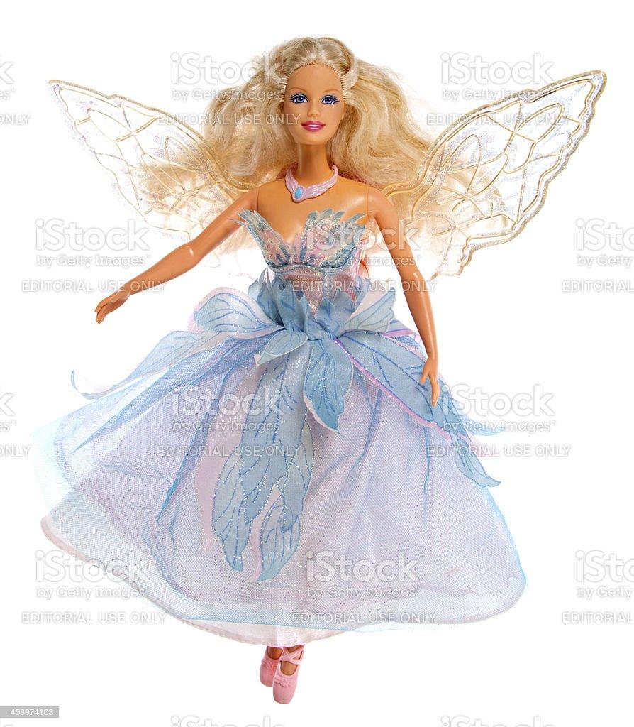 Swan Lake Ballerina Barbie Fashon Doll stock photo