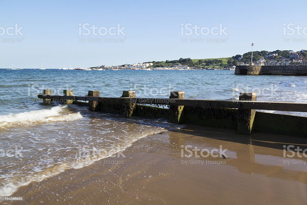 Swanage Dorset-Angleterre photo libre de droits
