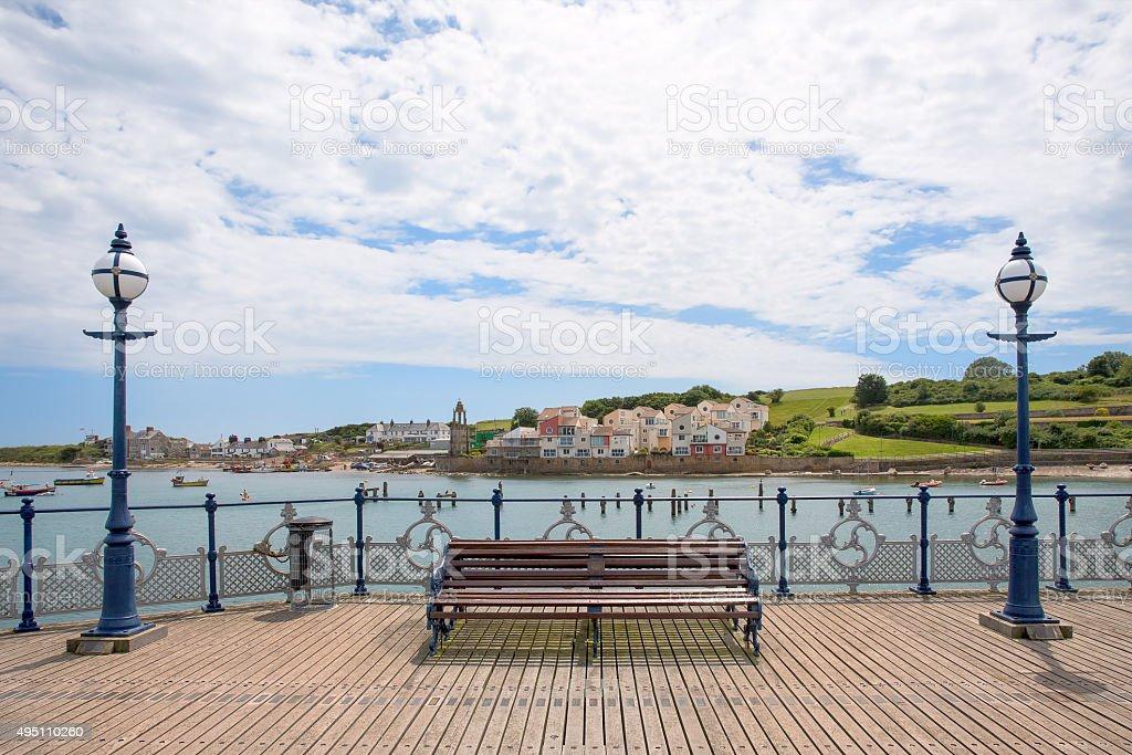 Swanage Pier 1 stock photo