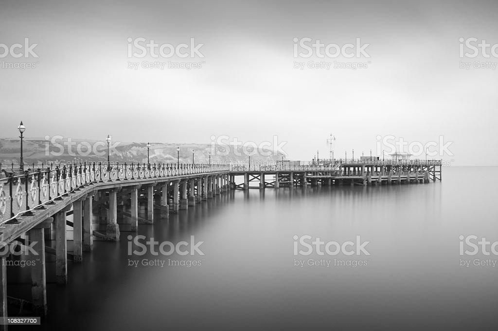 Swanage Pier stock photo