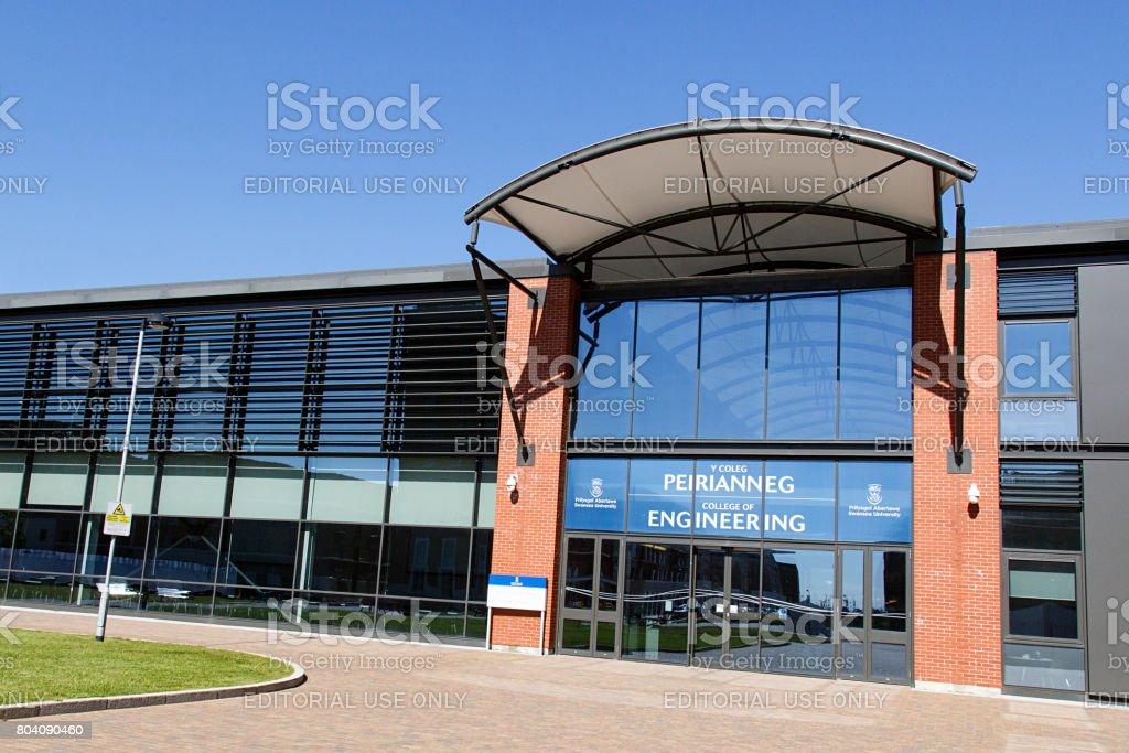 Swansea University - College of Engineering stock photo