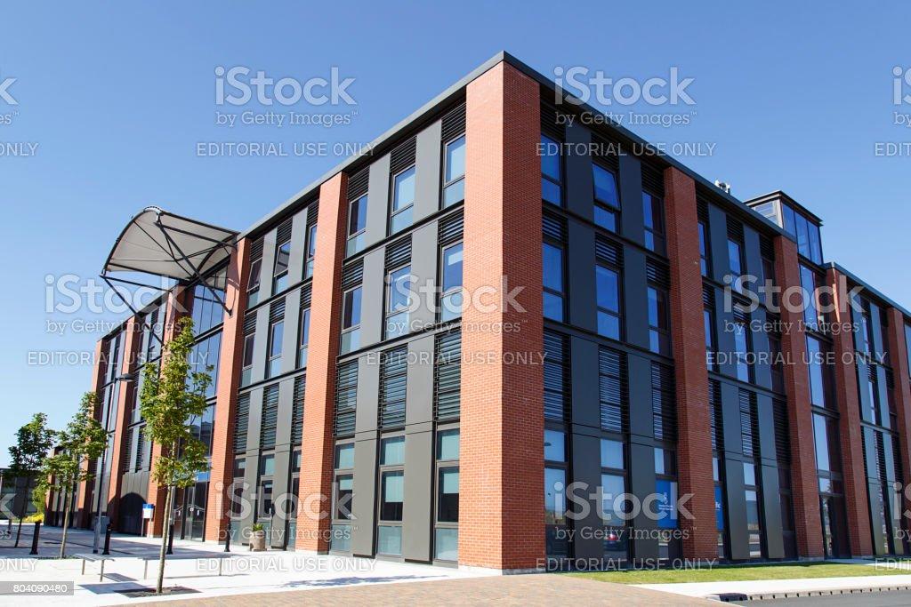 Swansea University - Engineering Department stock photo