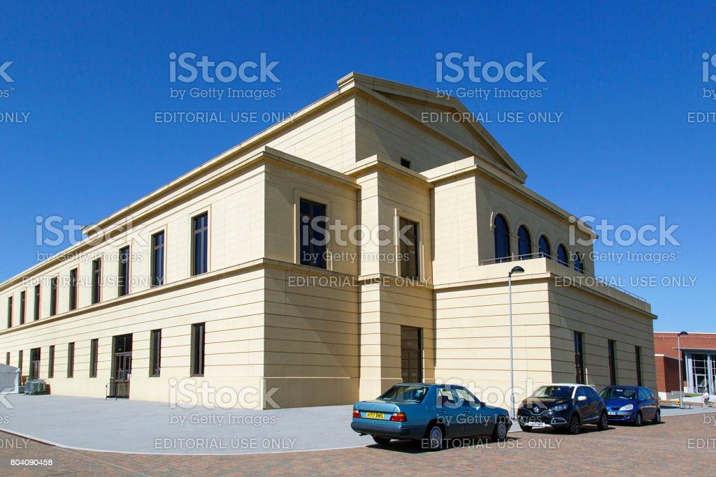 Swansea University - The Great Hall stock photo
