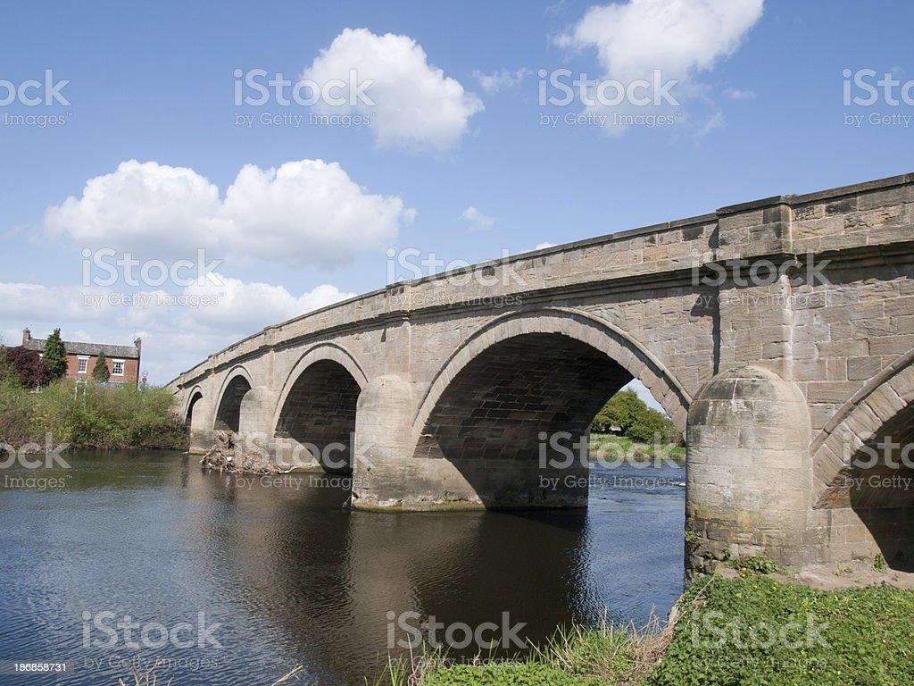 Swarkstone Bridge stock photo